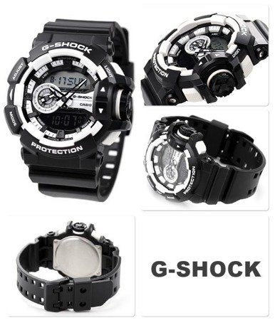 Hodinky Rotary Switch Casio G-Shock GA-400-1A